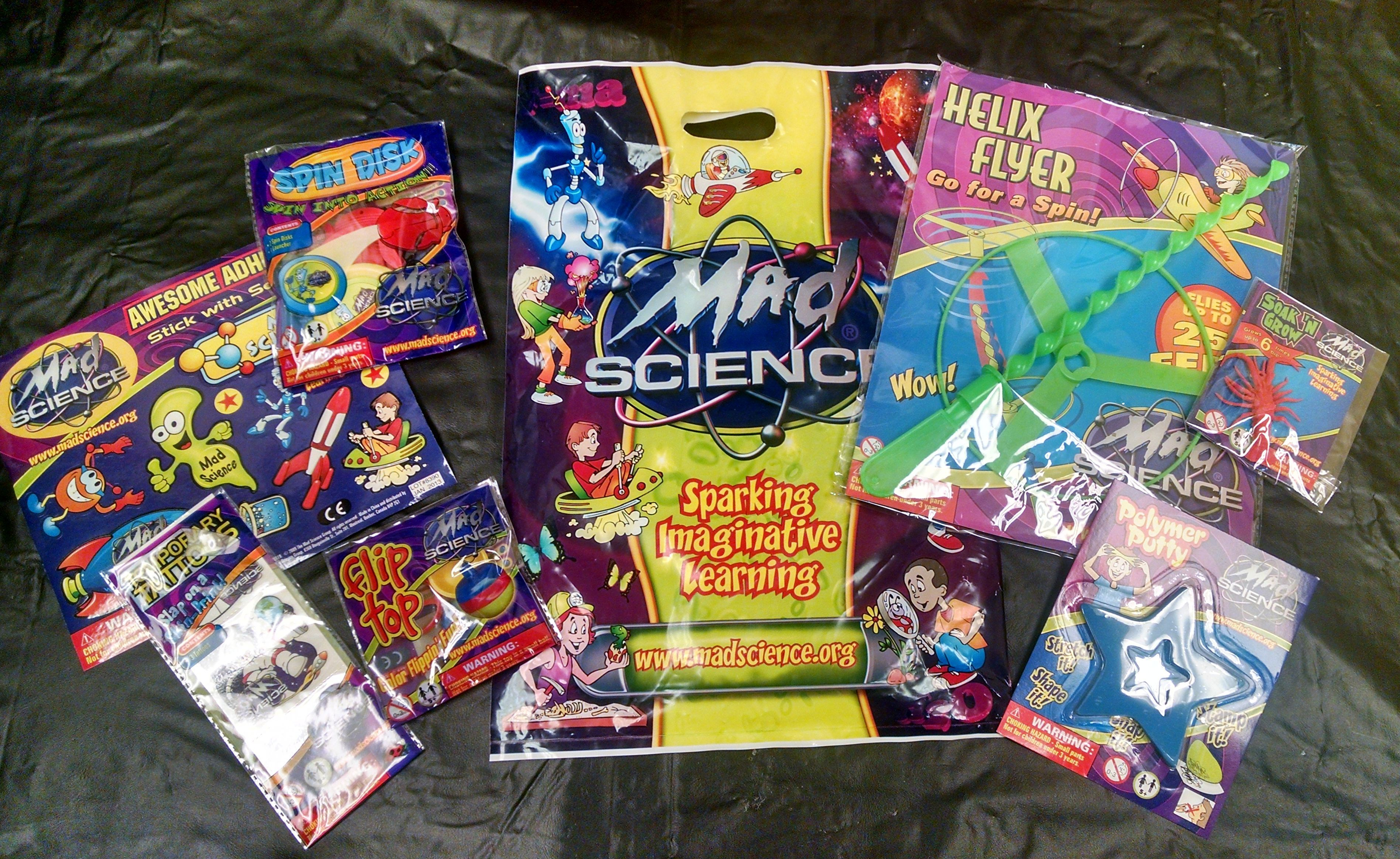 Mad Science Goody Bags